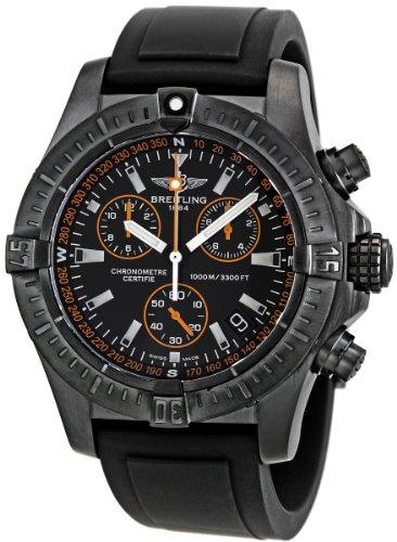 Breitling Men's M73390T2/BA88BKPT Avenger Seawolf Chronograph Watch