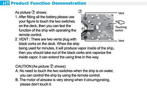 Barco Destructor Transformaci/ón JRhong Coches de Juguetes 2879A