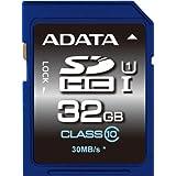 ADATA Premier 32GB SDHC UHS-I U1 Memory Card (ASDH32GUICL10-R)