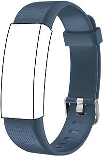 endubro Ersatzarmband für Fitness Tracker ID130 Plus Color HR & viele weitere Modelle aus TPU Skin-Friendly mit antiallergischem Verschluss