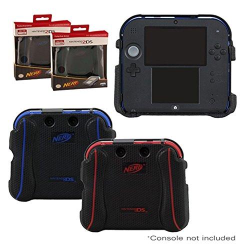 Nintendo 2DS Case - Nerf Impact Resistant Protective Textured Grip Armor Case