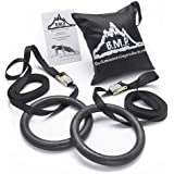 Black Mountain Products Multi-Use Exercise Gymnastics Rings