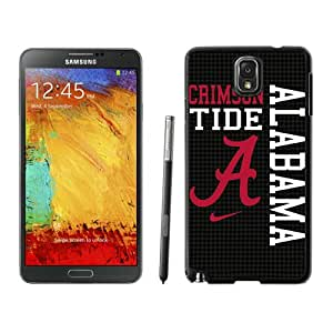 Southeastern Conference SEC Football Alabama Crimson Tide 8 Black Customize Samsung Galaxy Note 3 Cover Case