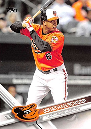 2017 Topps Series 2 #391 Jonathan Schoop Baltimore Orioles Baseball Card