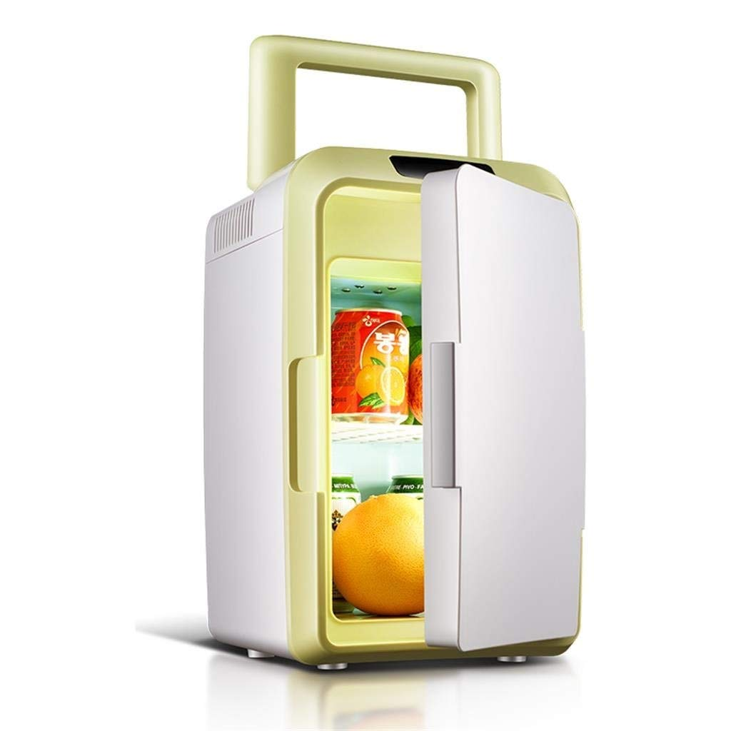 JGWJJ Mini Fridge| 12L Electric Cooler and Warmer Compact Refrigerator| AC/DC Portable Thermoelectric System| for Car, Outdoor, Office, Dorm, Apartment