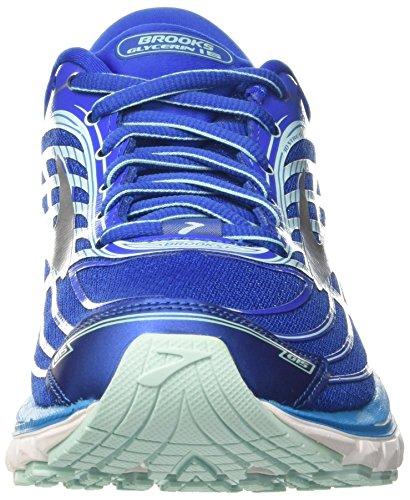 Brooks Ladies Glycerin 15 Scarpe Da Corsa Blu (blu / Menta / Argento 1b484)
