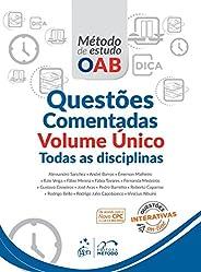 Série Método De Estudo Oab - Questões Comentadas - Volume Único - Todas As Disciplinas