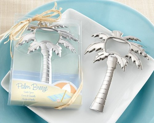 'Palm Breeze' Chrome Palm Tree Bottle Opener - Total 48 items by Kateaspen