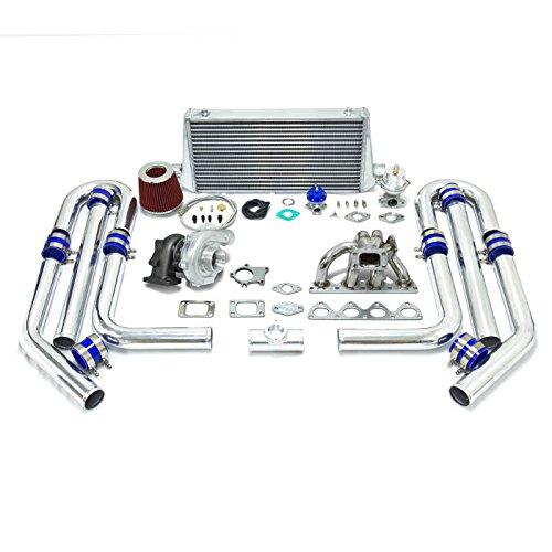 Amazon.com: High Performance Upgrade T04E T3 5pc Turbo Kit - Honda H22 Stainless Steel Manifold: Automotive