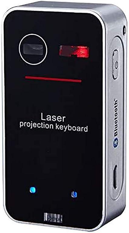 XMYL Teclado Bluetooth Teclado Virtual De Proyección ...