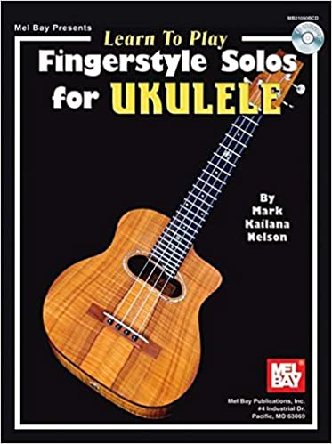 Amazon Mel Bay Learn To Play Fingerstyle Solos For Ukulele