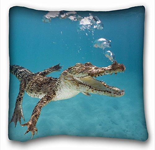 TSlook 50x80 Blankets Funny Crocodile Alligator Cayman Comfy Funny Bed Blanket