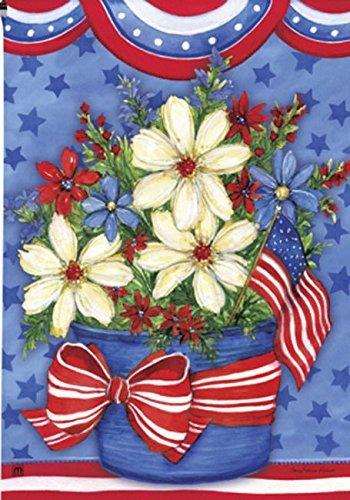 BreezeArt American Beauty Garden Flag 32037