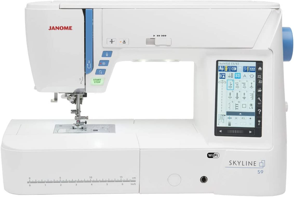 Janome - Skyline S9 Coser y Bordar: Amazon.es: Hogar