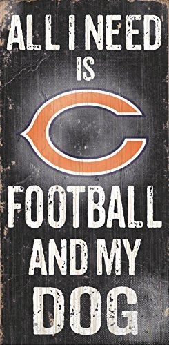 Fan Creations Chicago Bears Football and My Dog Sign -