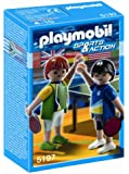 Playmobil - 5197 - Jeu de construction - 2 joueurs de tennis de table