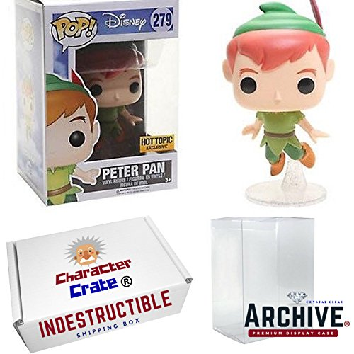 Funko Pop! Disney Classic Flying Peter Pan Hot Topic Exclusi
