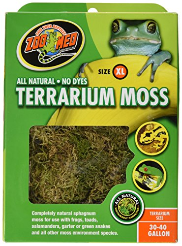 Zoo Med Terrarium Moss 30-40 Gallons by Zoo Med
