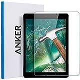 "iPad 9.7 inch (2017) / iPad Pro 9.7 / iPad Air 2 / iPad Air Screen Protector, Anker 9.7"" Tempered Glass Screen Protector - Anti Fingerprint / Scratch Resistant / Apple Pencil Compatible"