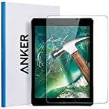 "iPad 9.7 inch (2017) / iPad Pro 9.7 / iPad Air 2 / iPad Air Screen Protector, Anker 9.7"" Tempered Glass Screen Protector - Anti Fingerprint / Scratch Resistant / Apple Pencil Compatible"