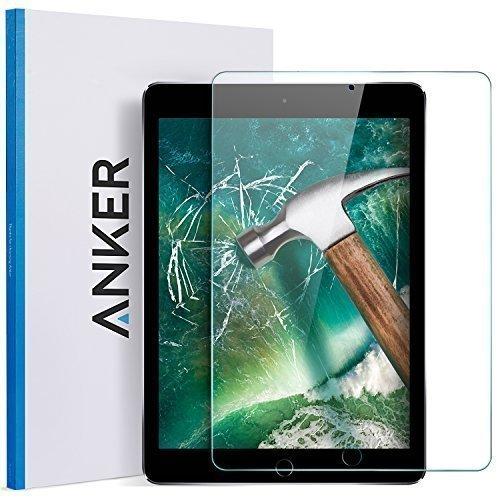 iPad-97-inch-2017-iPad-Pro-97-iPad-Air-2-iPad-Air-Screen-Protector-Anker-97-Tempered-Glass-Screen-Protector---Anti-Fingerprint-Scratch-Resistant-Apple-Pencil-Compatible