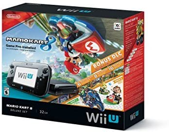Nintendo Wii U 32GB Mario Kart 8 (Pre-Installed) Deluxe Set by ...