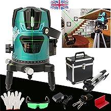 Green Slash 520nm Diagona Rotary Laser Line Beam Leveling Level Meter Tripod Kit