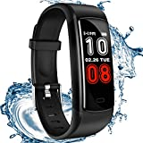 SIKADEER Fitness Tracker, Activity Tracker Waterproof Health Tracker with Heart Rate Monitor, Sleep Monitor, Step Counter, Calories Fitness Watch for Women, Men Kids 【2019 New Version】