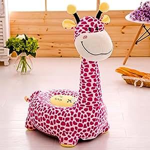 Amazon.com: jibuteng sofá puf de suave silla de felpa, de ...