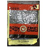 Roasted Seaweed Laver 100 pieces (250g), Product of Korea