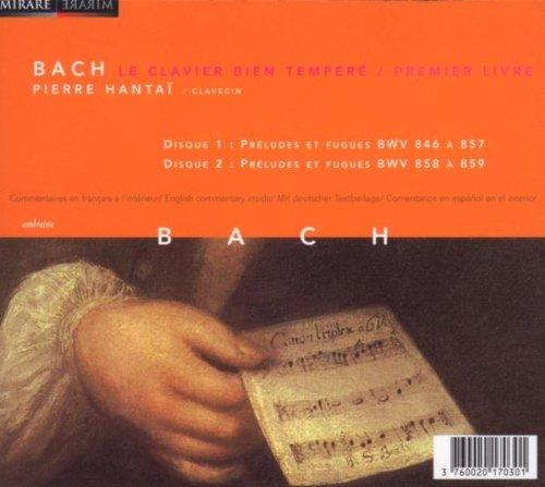 Bach: Le Clavier bien tempéré, premier livre (The Well-Tempered Clavier, First Book) - Pierre Hantaï by Mirare France