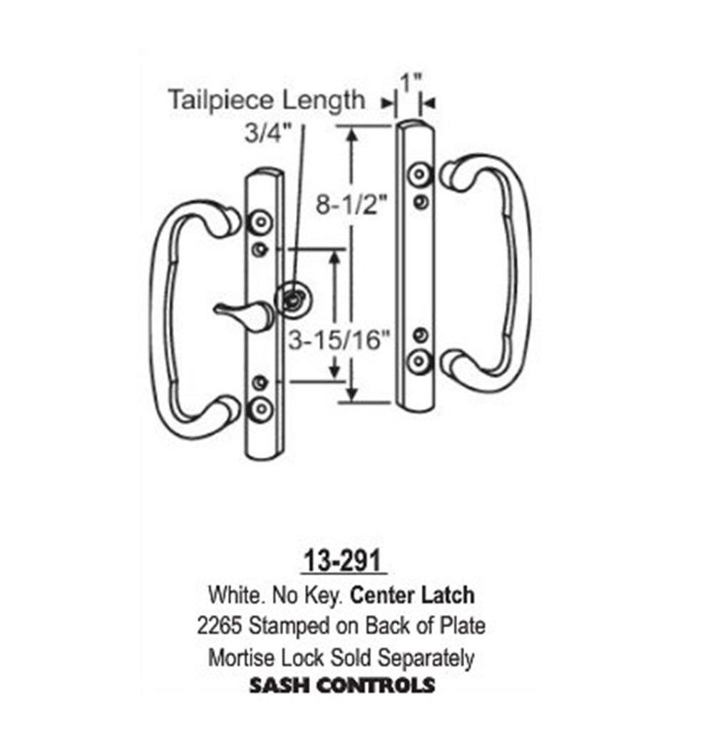Garage Door Parts Flush Mount Patio Door Handles by Garage Door parts USA