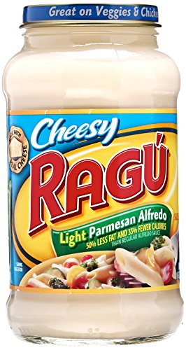 ragu light spaghetti sauce - 1
