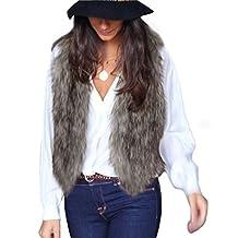 Tonsee Women Vest Sleeveless Coat Outerwear Jacket Waistcoat