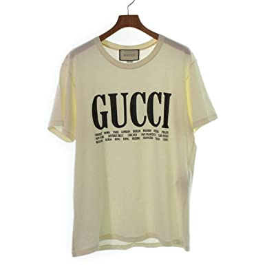 more photos 800e0 8da82 Amazon | (グッチ)GUCCI メンズ Tシャツ 中古 | Tシャツ ...