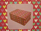"Valentines Day Heart Treat or Candy Boxes, (4 5/8"" X 1 1/4"" X 4 5/8"") (12 boxes)"