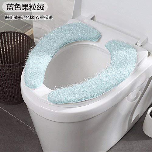 Toilet Cushion Toilet Cushion Hand Painting Bathmats Toilet Mat Three Piece Bathroom Mat,C