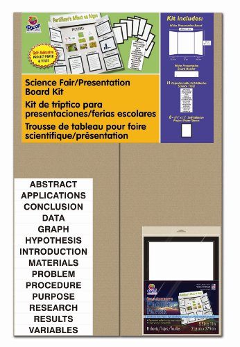 Pacon Presentation Board Kit