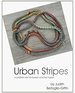 Bead crochet snakes history and technique adele rogers recklies urban stripes a pattern set for bead crochet ropes fandeluxe Choice Image