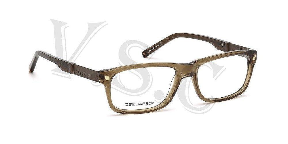 Amazon.com: Dsquared dq5103 Gafas de Ojo de anteojos 5103 ...