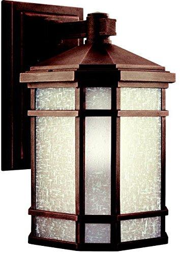 Kichler 9719PR Outdoor Wall 1-Light, Prairie (Prairie Style Outdoor Lighting)