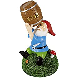 Gnometastic Beer Guzzling Garden Gnome