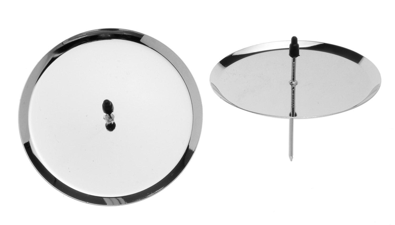 Confezione da 4/Pezzi Glorex GmbH Candeliere con Diametro di 8/cm