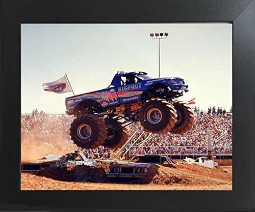 Bigfoot Monster Truck Wall Decor Contemporary Black Framed Art Print