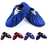5 Pairs Non Slip Washable Reusable Shoe Covers Cotton and Polyester For Household Thickened Boot Covers