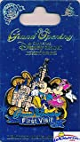 #7: Shanghai Disneyland EXCLUSIVE Grand Opening Limited Release FIRST VISIT COLLECTORS PIN of MICKEY MOUSE & MINNIE with CASTLE! Was only Available at Shanghai Disneyland but is now Totally SOLD OUT!