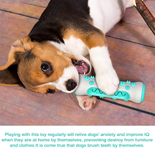 YIANO Durable Dog Toothbrush Cleaning Molar Puppy Teething Toys Chew Toy for Aggressive Chewers