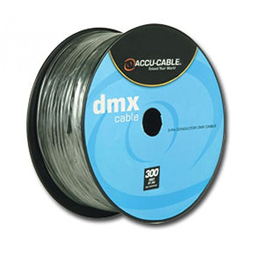 American DJ 3-Pin DMX Cable 300 Ft (Bulk Cable Dmx)