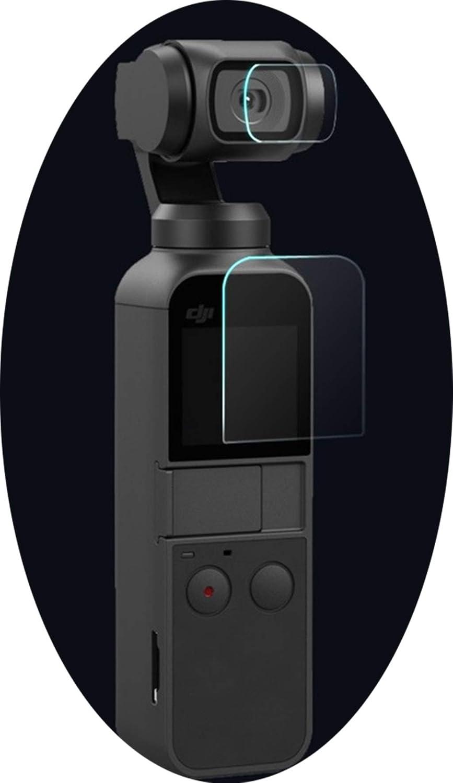 Amaping 6枚入り 柔軟なファイバーグラスレンズ/スクリーン保護フィルム DJI OSMO ポケットカメラ用 2.8 x 2 x 0.6 inches クリア Amaping 122563841670199012 B07M9MT4L7  クリア