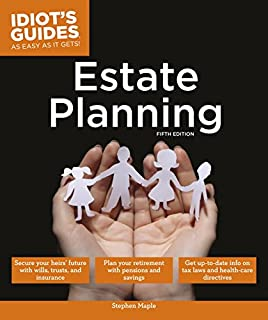 Book Cover: Idiot's guides estate planning.